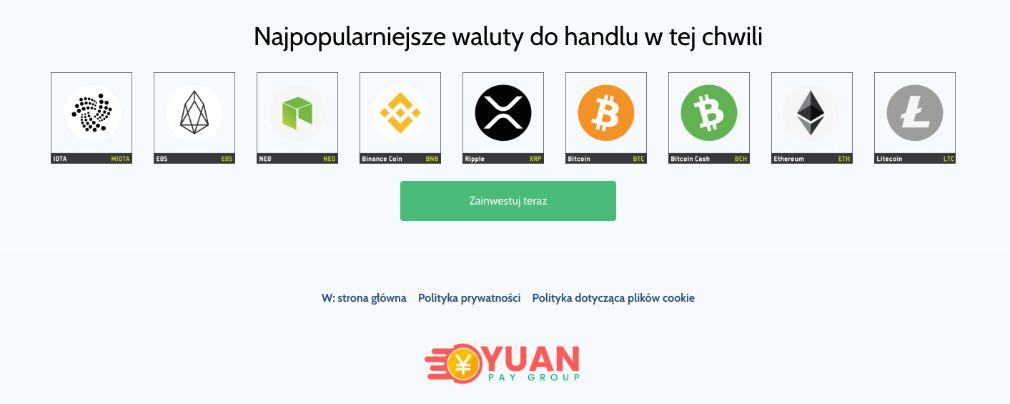 Yuan Pay Waluty