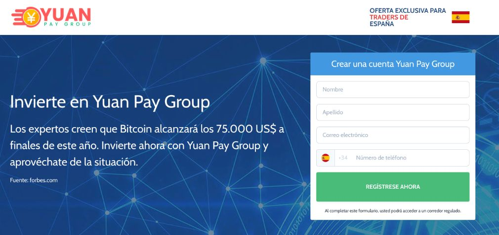 Yuan Pay opiniones