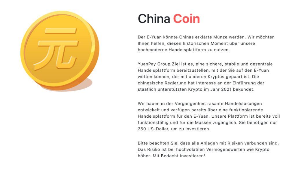 Yuan Pay Coin